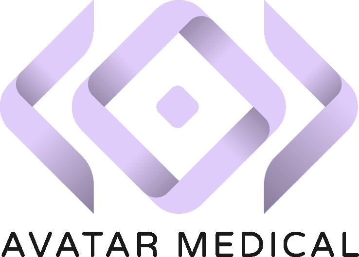 Avatar Medical Logo black type Xavier Wartelle